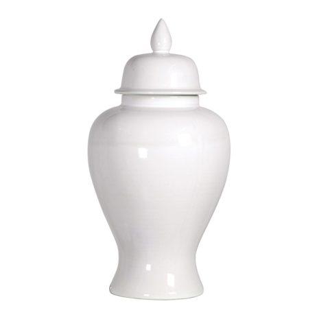 white ginger jar