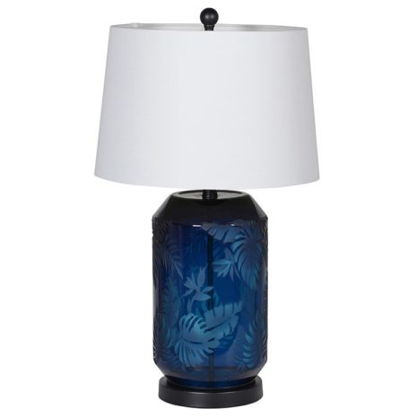 Tropic Blue Table Lamp
